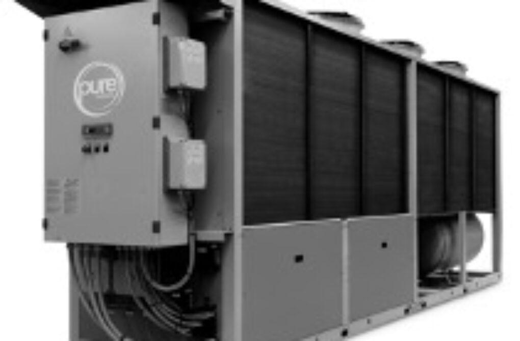 Pure Thermal 200kW 80C Air Source HFO Heat Pump.