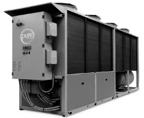 Pure Thermal 200kW 80C Air Source HFO Heat Pump.