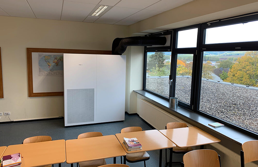 Viessmann - an air ventilation solution to combat the spread of COVID-19 in schools